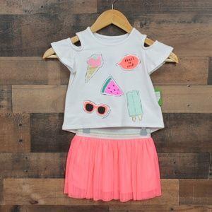 Kate Spade So Cool skirt set sz 2 NWT